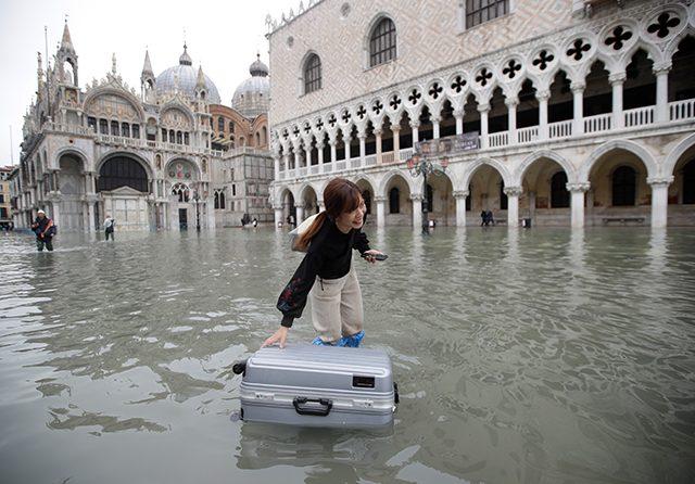 Bencana Banjir Kota Venesia