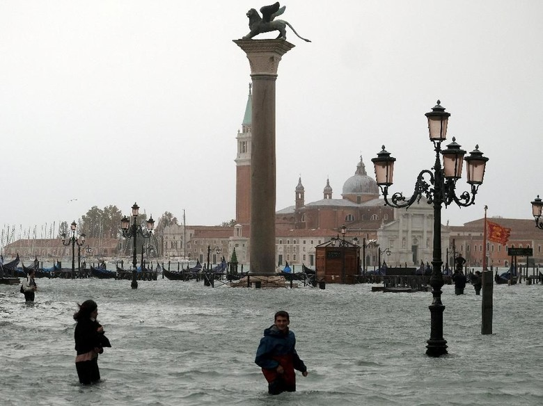 Venesia! Kota Air Yang Terendam Banjir Bandang