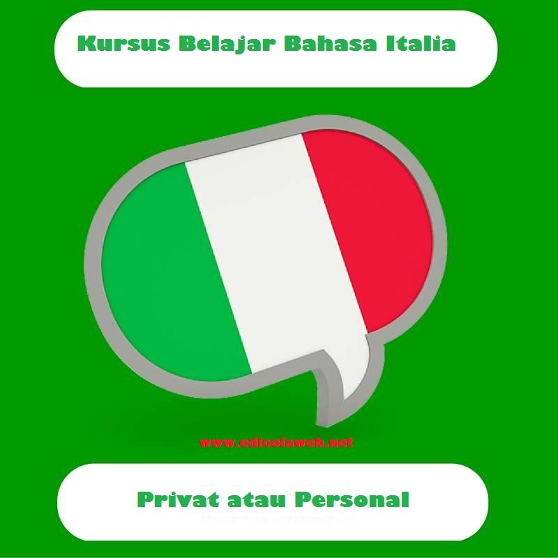 Kursus Belajar Bahasa Italia untuk Privat atau Personal